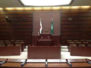 広島市議会議場